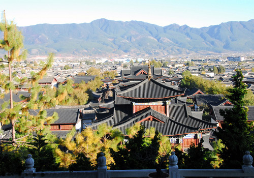 A visit to Lijiang Old Town is not completed without visiting the Mu Family's Mansion