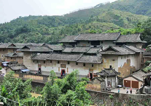 Yongding Tulou, located in Longyan city, Fujian province, is unique rural dwellings of the Hakka and Minnan people in mountainous areas around the world.