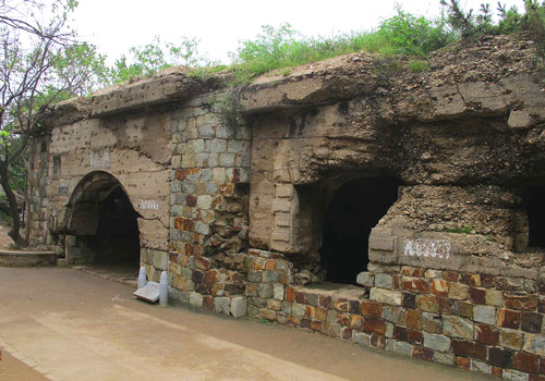 The outside of East Jiguanshan North Fortress