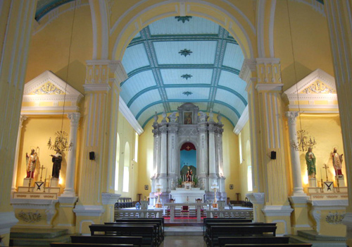 St.Augustine's Church is Macau's first church for English Mass.
