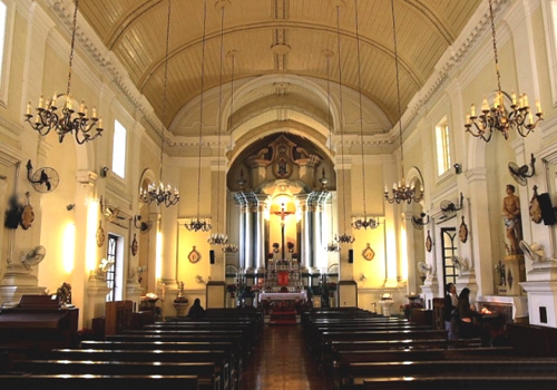 St.Anthony's Church is one of three oldest churches of Macau and a part of Historic Center of Macau.