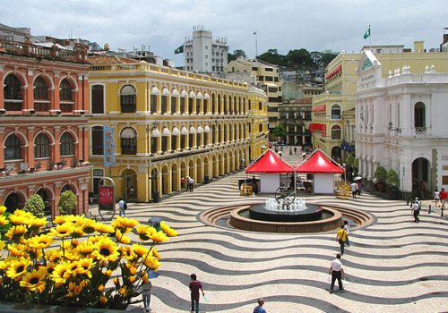 Located in central Macau Peninsular,Senado Square is a main city square of Macau.