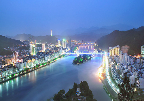 Xin'an River, originated from Xiuning County, Huizhou district, Huangshan city, flows to the western Zhejiang province in the east, to the Qiantang River in the northeast.