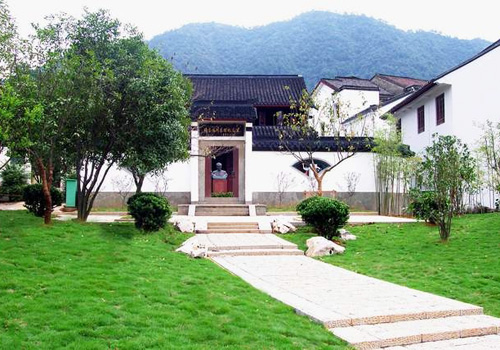 The appearance of the Zhou Enlai Memorial Hall,Hangzhou