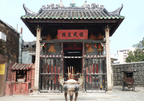 Located behind the Ruins of St. Paul,the Na Tcha Temple of Macau is dedicated to the deity Na Tcha.