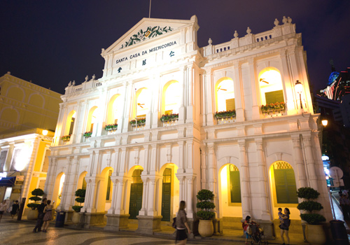 Holy House of Mercy at Largo do Senado was founded in 1569 by the first bishop of Macau catholic.