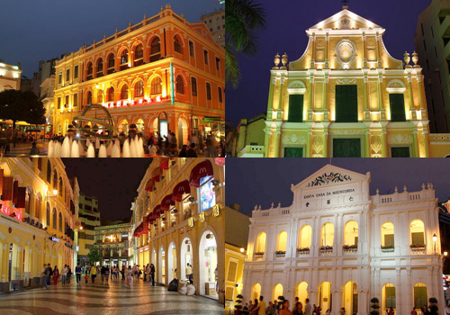 Historic Center of Macau is made up of twenty-two architectures in Macau peninsular and its nearby eight squares.