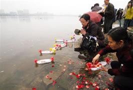 Zhongyuan Festival in Guilin