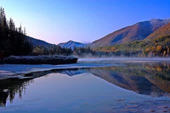 Kanas Lake of Xinjiang