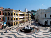 "Senado Square - The ""Maritime"" Squares of Macau"