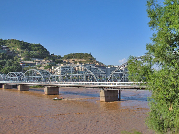 Yellow River Iron Bridge / Zhongshan Bridge