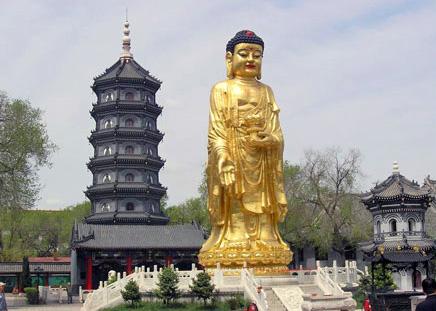 Seven-tiered Buddhist Pagoda