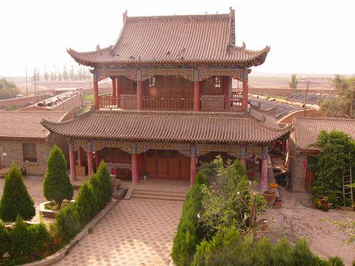 Haibao Pagoda, Haibao Temple
