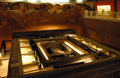 Han Tomb Museum in Yangzhou