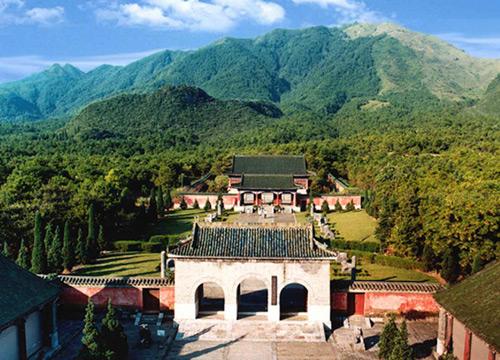 The Mausoleums of Jing Jiang, Guilin
