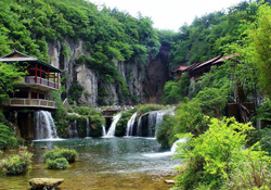 Tianhe Pool Scenic Area