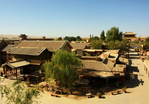 The Ancient City of Dunhuang Movie Set