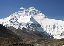 Mt. Everest ( Qomolangma )