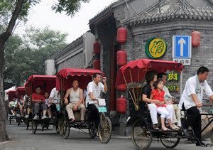 Hutong Tours in Rickshaw