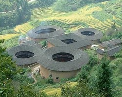Earth Buildings of Yongding/Fujian Tulou