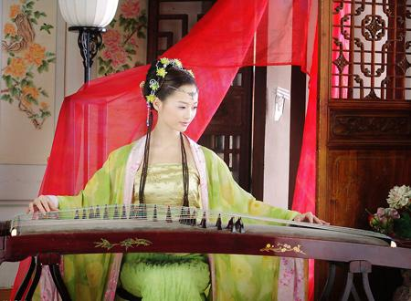 Traditional Chinese Musical Instruments of Chinese Cuisine