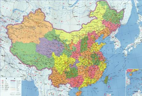 Geographic Location China Overview China Travel Guide - Location of china