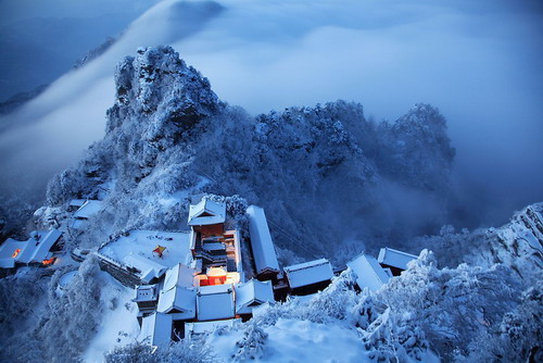 Shiyan China  city photo : Wudang Mountains, Mt. Wudang Taoist Kung fu, Shiyan