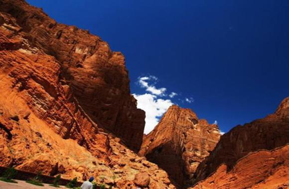Tianshan Grand Canyon, Kucha