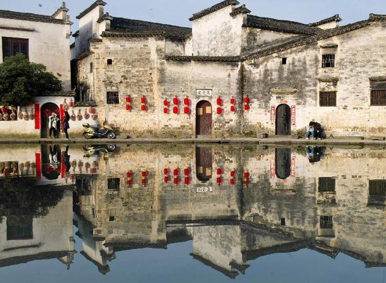Hongcun Ancient Village, Anhui