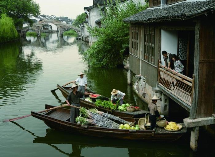 Wuzhen Water Town of Hangzhou