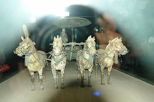 Bronze horse and cart, Xi'an