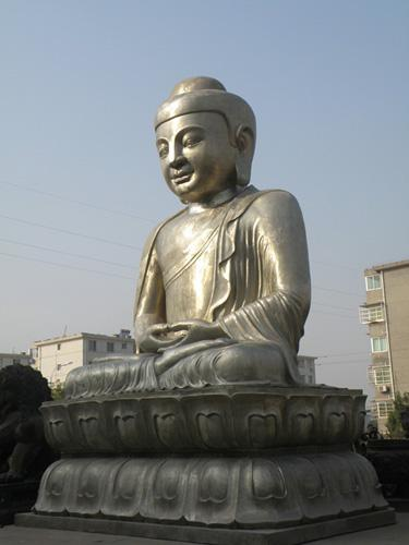 The Buddha sculpture of Jing'an Temple, Shanghai