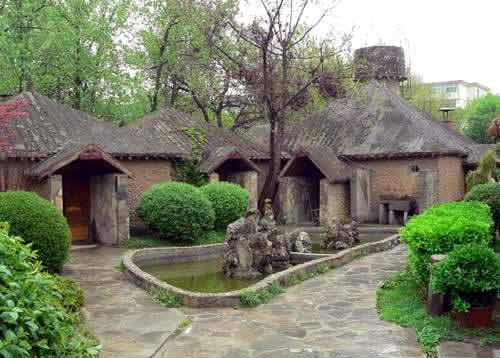 Houses of Ancient People in Banpo Museum