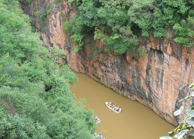 The beautiful gorge of Jiuxiang, Kunming