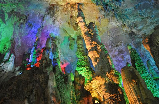The beautiful cave of Jiuxiang, Kunming