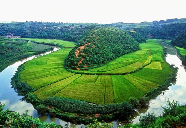 The incredible landscape of Jiuxiang, Kunming