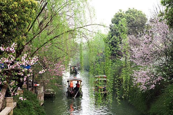 The Fragrant River of Mudu Town, Suzhou
