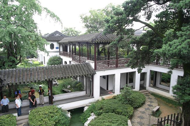 The Ancient Pinetree Garden, Mutu Town of Suzhou