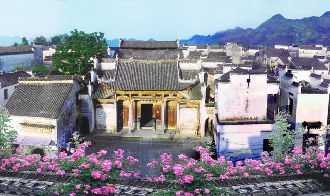The beautiful Nanping Ancient Village is a millennium-aged, grand scale habitation for ancient Huizhou merchants.