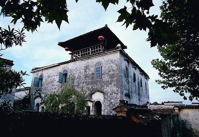 The elegant ancient villa in Nanping, Huangshan