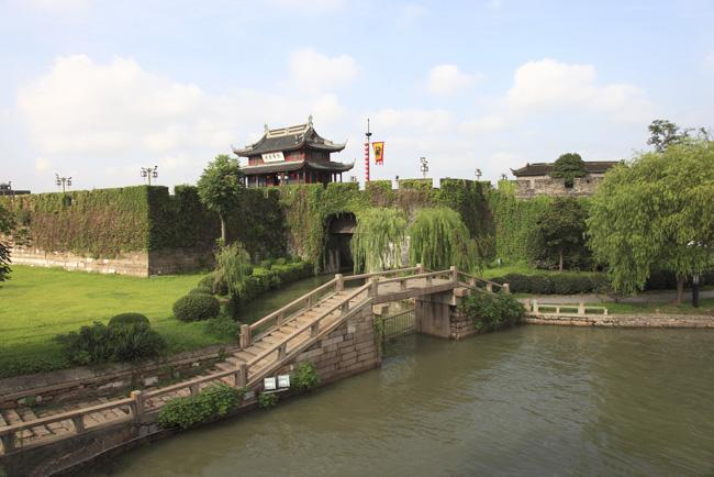 Panmen is a ancient city gate of Suzhou.