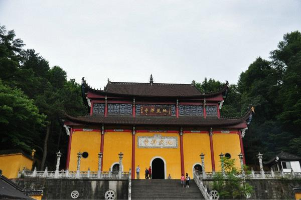 The Tiantai Temple of Jiuhua Mountain