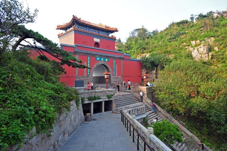 South Gate to Heaven at Mount Tai