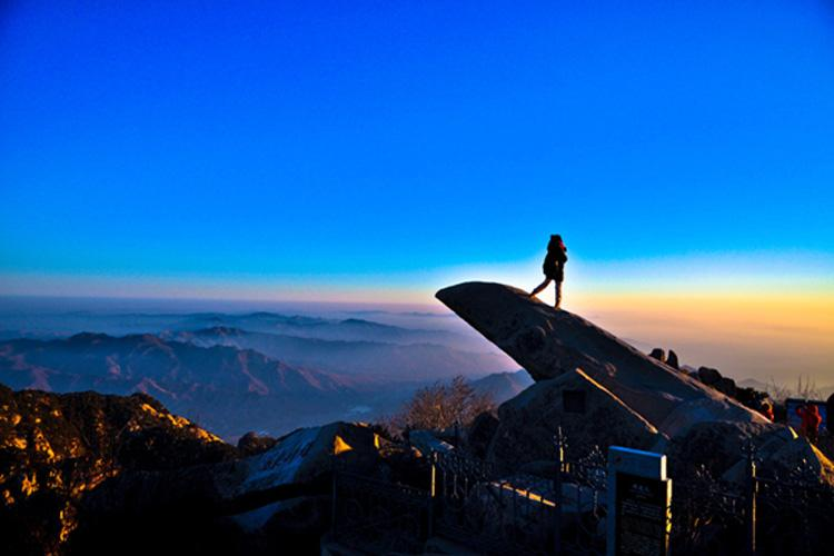 Sun-watching Peak at Mount Tai