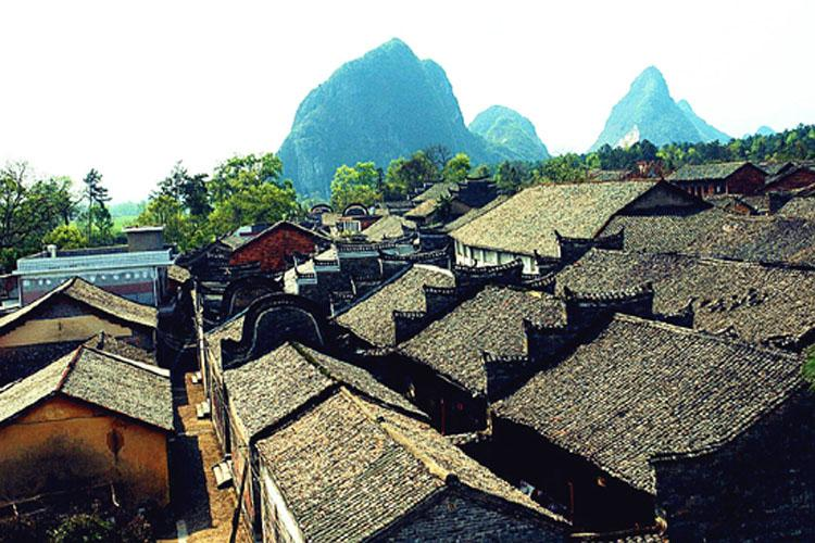 Ancient Architectural Complex of Jiangtou Ancient Village in Jiuwu,Guilin