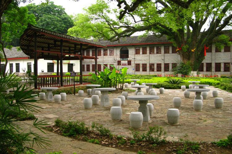 Inside of Yanshan Garden in Guilin