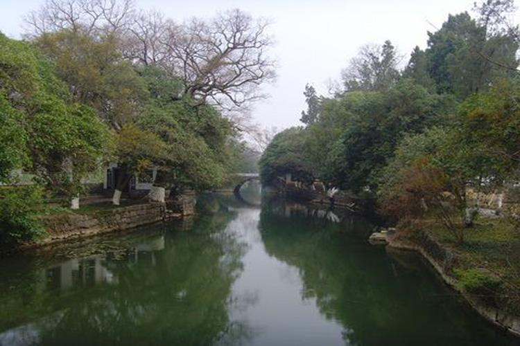 Lovesickness River in Yanshan Garden of Guilin