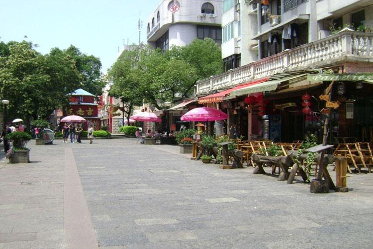 One Corner of Zhengyang Pedestrian Street in Guilin-2