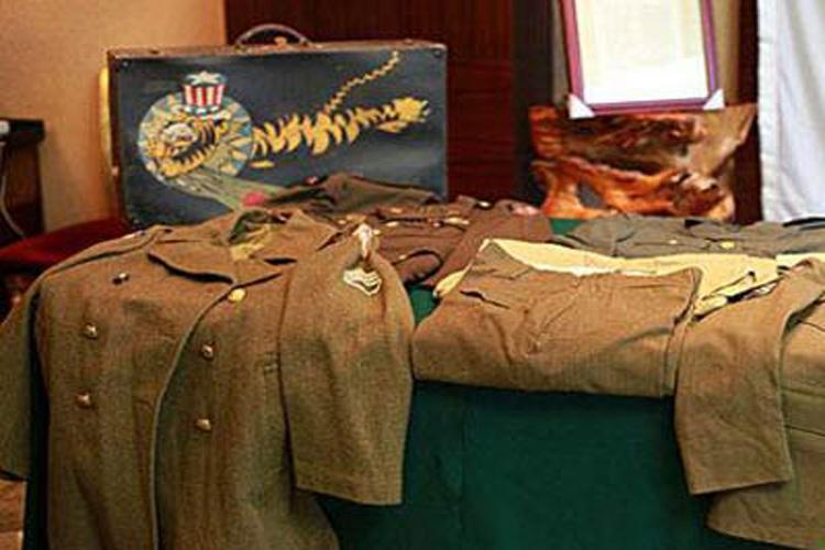 Clothes Wore by Flying Tigers in Guilin