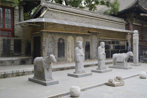 The exquisite ancient stone carvings of sculptures and steles in the Forest of Stele Museum, Xi'an